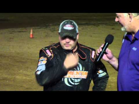Trail-Way Speedway 358 Sprint Car Victory Lane 9-12-14