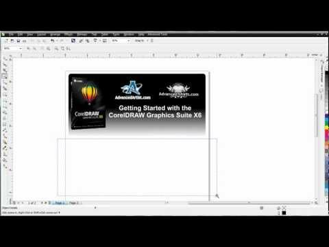 CorelDRAW X6 for beginners what is vector