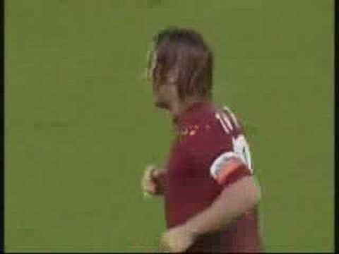 Francesco Totti Goals AS Roma Video