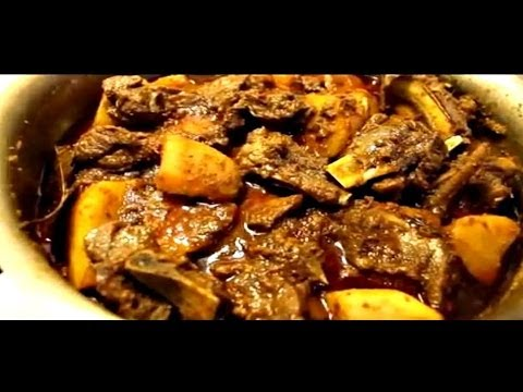 നാടൻ ആട്ടിറച്ചി കറി-Mutton Curry / Naadan Spicy Mutton Gravy - Indian Mutton Gravy