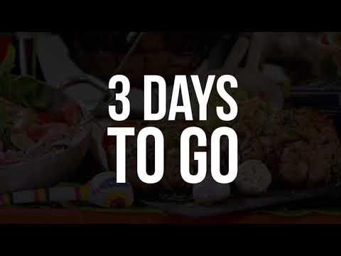 3 Days to Go - GTBank Food & Drink 2018