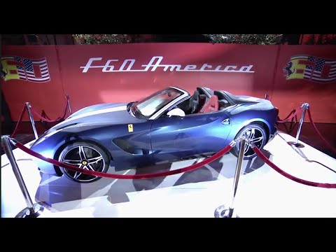 Ferrari celebrates 60 years in the USA with a gala in Beverly Hills