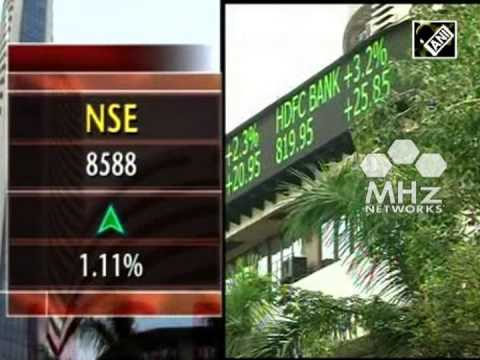 Sensex scales new peak as markets end at record high  (SAN - 28 Nov, 2014)