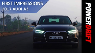 What's new in the 2017 Audi A3:  PowerDrift