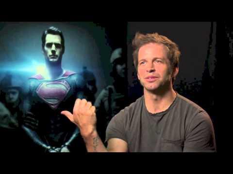 Man Of Steel (2013) Zack Snyder Interview [HD]
