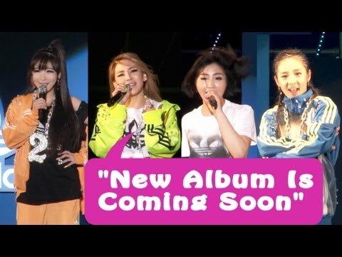 2NE1 '박수쳐'(Clap Your Hands) Live on Snoop Doog concert (스눕독 내한공연)