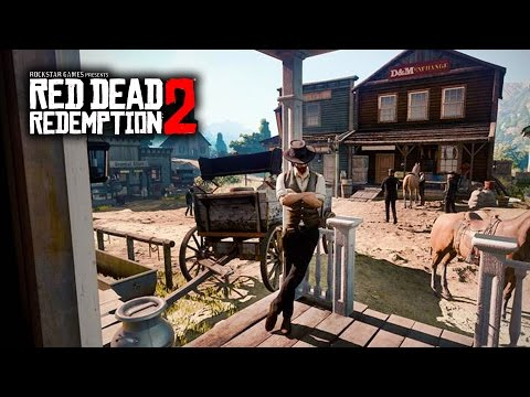 Red Dead Redemption 2 - NEW GAMEPLAY IMAGE LEAKED! Open World, Protagonist and More!