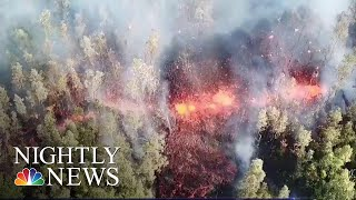 Volcanic Eruption In Hawaii Forces Evacuations | NBC Nightly News