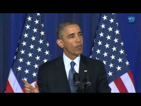Codepink Activist Heckles Obama During His Terrorism Speech On Drones -Full video