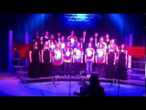 Grapevine Faith Christian School Choir song dedicated to Madeline Menke 4-18-2013