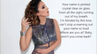Elhaida Dani-I'm Alive Lyrics (Eurovision Song Contest 2015 Albania)