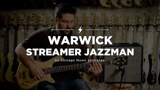 Quick Riffs: Warwick Streamer Jazzman 4-String Bass Guitar