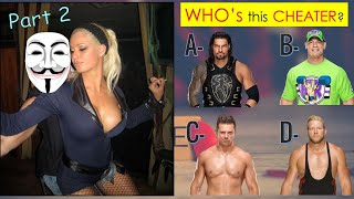 WWE DIRTY QUIZ - Guess WWE Superstars by Embarrassing Moments - Part 2!