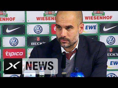 Reina für Neuer! Pep Guardiola: Manuel brauchte eine Pause | Werder Bremen - FC Bayern München 0:4