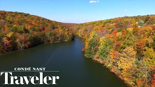 Fall Foliage in Hudson Valley, New York