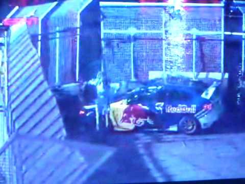 Travis Pastrana New Years eve no limit car jump world record Video