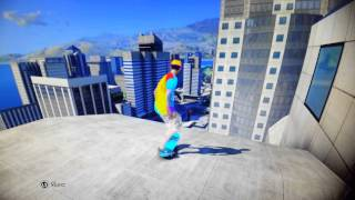 How to get onto the tallest building in Skate 3