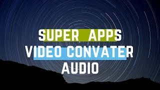 video convater audio apps in tamil || opec tech ||