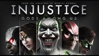 INJUSTICE GODS AMONG US Modo história completo só as cutscenes (PC no ULTRA a 1080p)