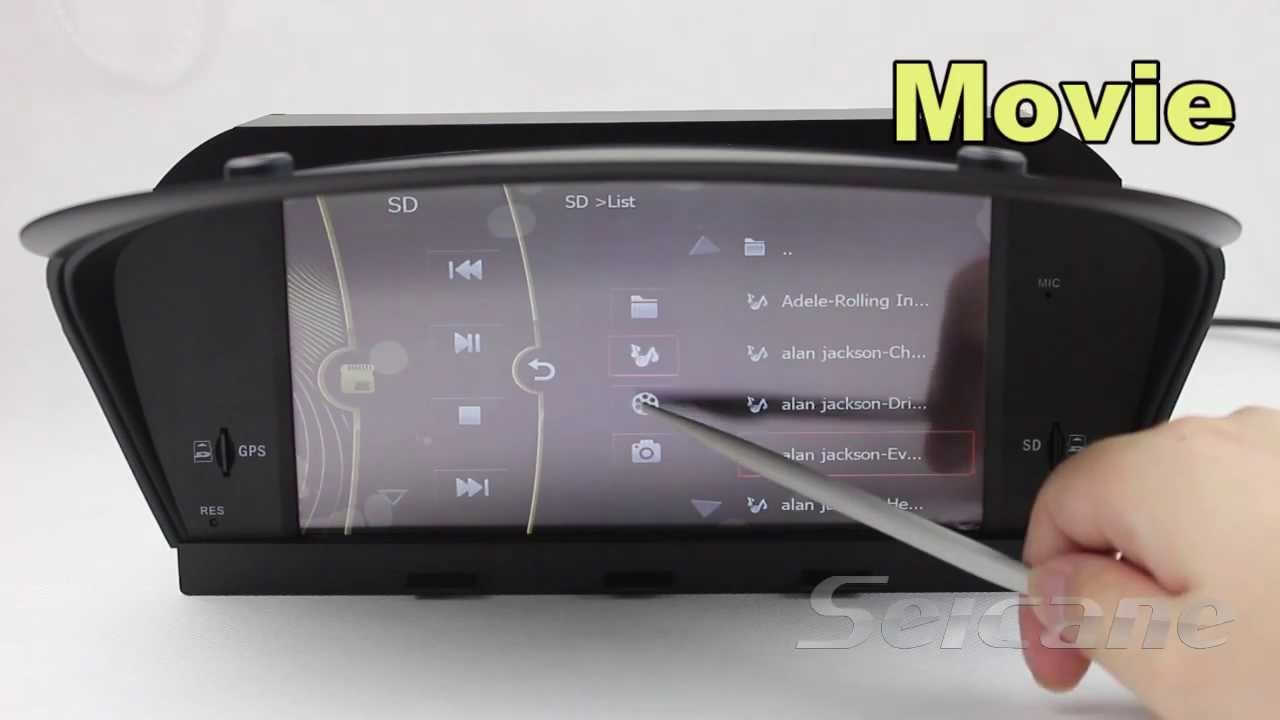 Bmw 5 Series E60 Special Radio Gps Navigation Dvd With Bluetooth Ipod Youtube