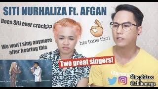 Dato Siti Nurhaliza ft Afgan - Biarlah Rahsia HD SitiAndFriendsConcert2016 | REACTION