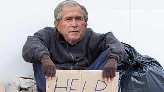 George Bush Cashes HUGE Check From Homeless Shelter
