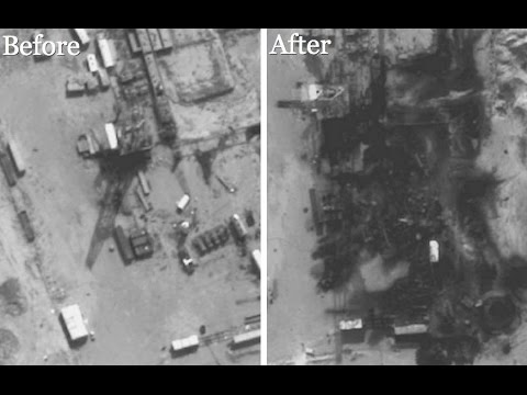 US Bombing ISIS-Controlled Oil Refineries In Syria