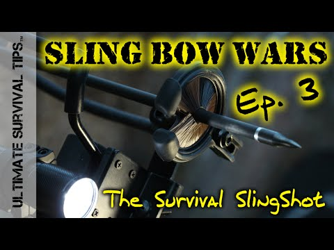 The Survival Slingshot - REVIEW - Ep. 3 - BEST Survival SlingShots for Hunting / Bug Out Bags