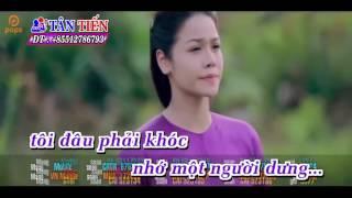 Karaoke HD  Thà Người Đừng Hứa   Nhật Kim Anh Full Beat