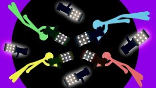 AWESOME BLACK HOLE PARTY! - Best Stickfight Maps! - Stick Fight Custom Maps Multiplayer