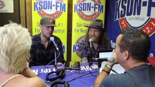 Brothers Osborne interview Stagecoach 2015