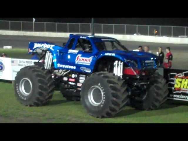 Bigfoot at Tri City Speedway 9-21-12