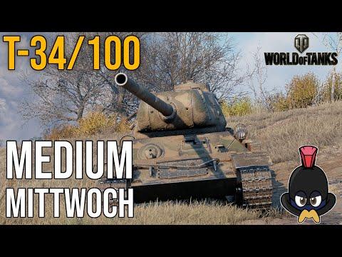 World of Tanks   Konštrukta T-34/100 auf Studzianki am Medium Mittwoch