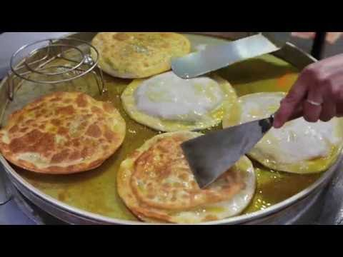 Xian Street Food (China) - Stuffed Meat and Vegetable Pie