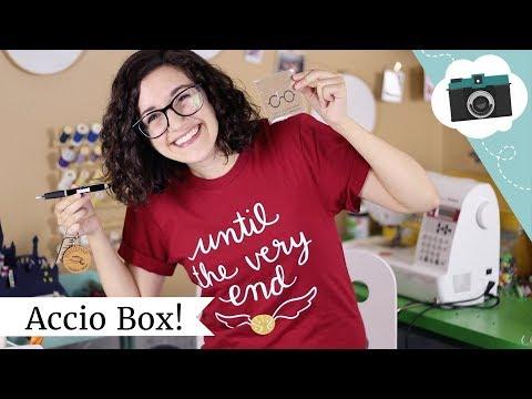 The Harry Potter box! Accio Subscription Unboxing | @laurenfairwx