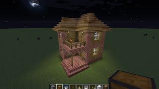 Minecraft | Cum sa faci o casa cu etaj