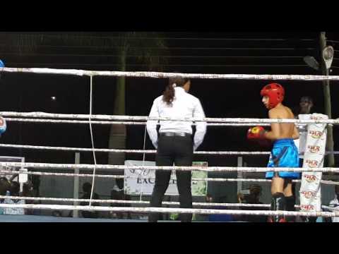 Ghana Kickboxing.  Isaac Aikins(17)