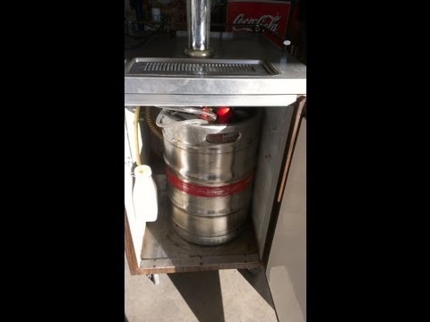 How to keg your beer using  a commercial  KEG