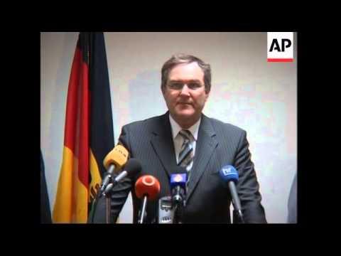 German Def Min Jung meets Lebanese counterpart