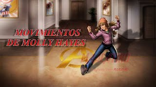 Marvel: Avengers Alliance - Movimientos de Molly Hayes Nivel 9