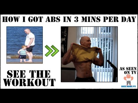 How To Get A Six Pack In 3 Minutes - Russ Howe PTI