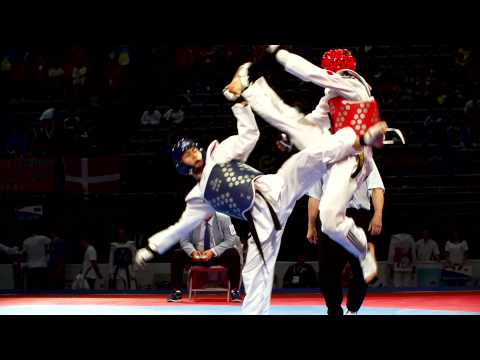 Highlights Di Davide Spinosa. Campione Del Mondo Di Taekwondo! video