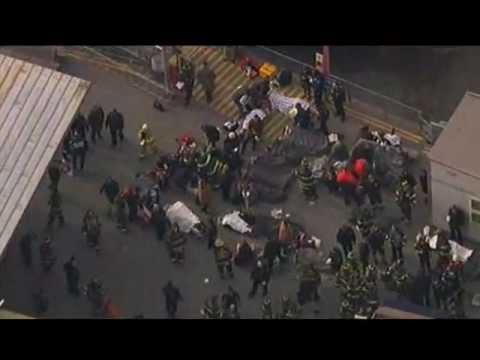 Manhattan Ferry Boat Crash With FDNY Audio 1/9/13