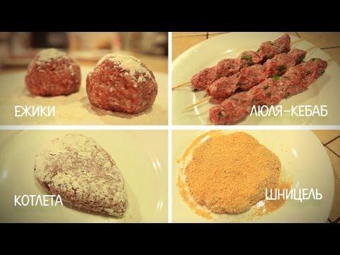 Свежая еда - Мясные хиты из фарша: готовим ежики, люля-кебаб, котлеты и шницель