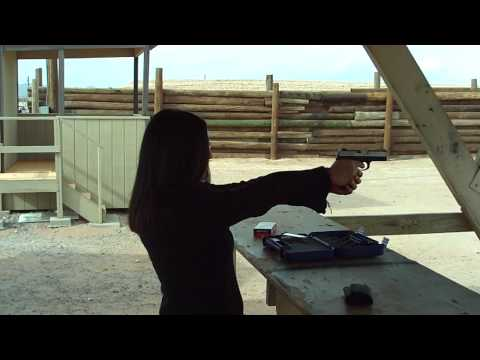 Shooting a .40 caliber Smith & Wesson sigma