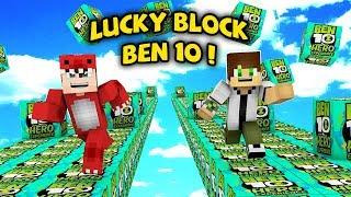 THỬ THÁCH ĐẬP 1000 LUCKY BLOCK CÙNG VỚI BEN 10 TRONG MINECRAFT