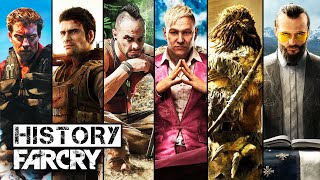 History/Evolution of Far Cry (2004-2018)
