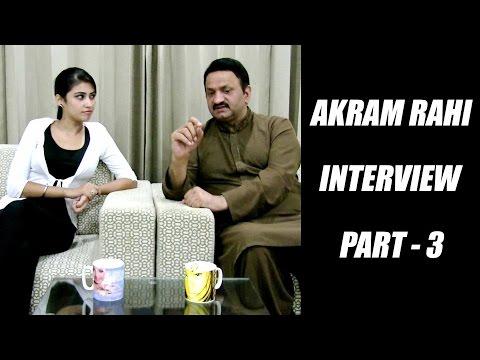 Akram Rahi   Anchor - Amandeep Kaur   Interview   Part 3   Japas Music video