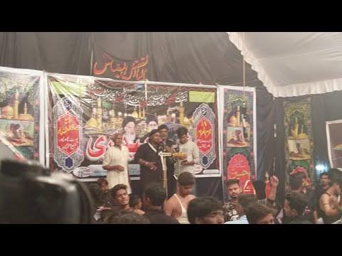 """Shabbedari"" Bahauddinpur Anjuman Azaee Hussaini 18 Moharram"
