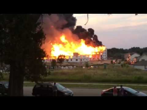 Madison, WI East Side Fire 8/8/14